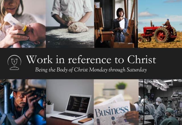 Work in reference to Christ